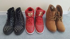 Lot of shoes Prices vary.