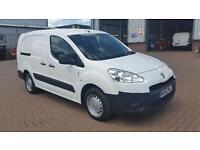 Peugeot Partner L2 716 S 1.6 Hdi 92BHP Crew Van DIESEL MANUAL WHITE (2012)