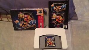 Bomberman 64 Second Attack nintendo 64 n64