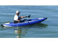 Inflatable Kayak suitable for grade 2/3 whitewater