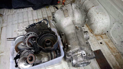 Turbo 700 cable kick down gearbox