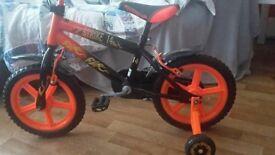 Boy Bike size 5-6 years