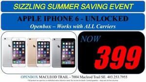 APPLE IPHONE 6 Factory Unlocked With Warranty. OpenBox Macleod Sale!