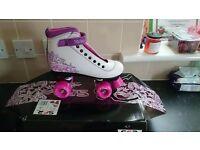 Roller skates size 5 worn once
