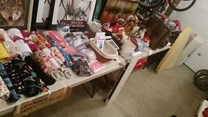 LAST DAY OF GARAGE SALE - MOST THINGS HALF OFF
