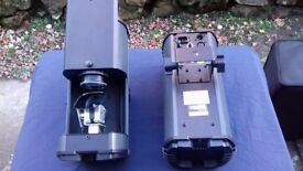 American DJ ADJ Comscan LED Twin Pack Scanner DJ Pair Lighting Effects