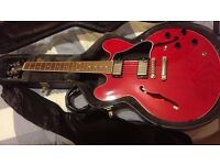 Gibson es-335 dot Cherry red 2009 Mamphis