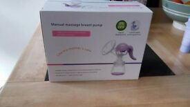 Manual breast pump plus extras