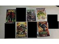 Marvel Comics Graphic Novels Trade Paperbacks - Avengers / Deadpool / Hulk