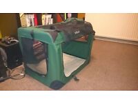 Dog Cat Carrier Travel Cage !!
