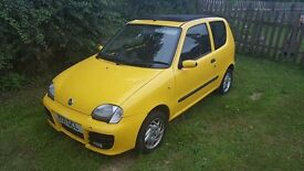 Seicento Sporting with opening roof