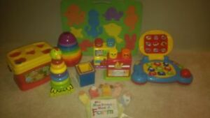 Lot of baby toys (EUC)