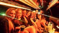 Birthday Night out Concert Bachelorette limousine service  limo