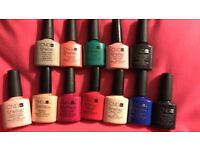 CND Shellac Collection- 9 different colours