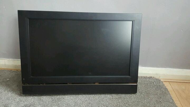 24 inch flat screen TV!