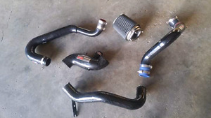 Mitsubishi Evolution 7/8/9 upper and lower intercooler pipes