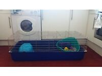 Large rabbit cage and equiptment