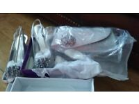 BNIB - Mother of Bride/Groom Shoes and Matching Bag