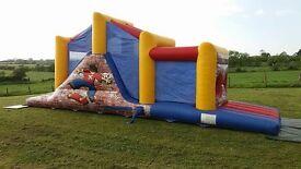 bouncy castles assult course