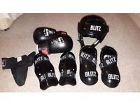 Blitz/Top Ten Junior kickboxing/martial arts safety pads