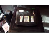 Sam4s cash register/till complete with instructions and 5 till rolls