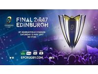 2 Champions Cup Final Tickets