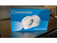 cookworks meat slicer new and boxed