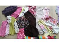 Huge bundle of girls clothes age 5yrs