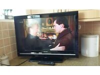 "Sharp 32"" Lcd hd ready Freeview with remote"