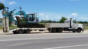 Complete outfit incl excavator, attachments, truck & tag trailer Bowen Whitsundays Area Preview