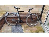 Single Speed/ Fixed Men's Bike- State Bicycle, Matt Black
