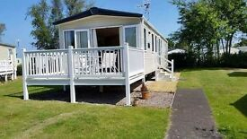 3 bedroom caravan for rent Haven Seton Sands, 12 miles south of edinburgh