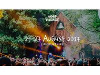 1 x Lost Village Festival Ticket 2017