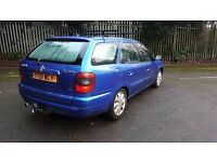 Citreon Xsara diesel with Tow bar and long mot