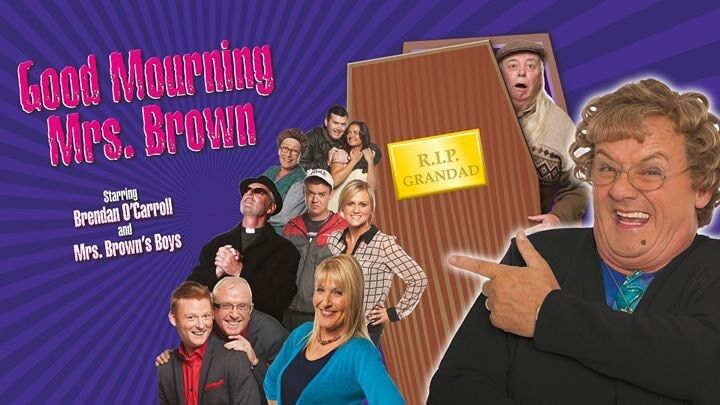 Good Mourning Mrs Brown Echo Arena Tickets 25/11/2017