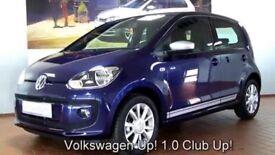 VW UP CLUB UP SATNAV AIRCON HEATED SPORTS SEATS (polo corsa fiesta)