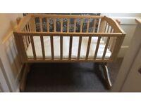 Saplings Bethany swinging crib and mattress