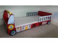Kidcraft Fire Truck Toddler Bed plus mattress