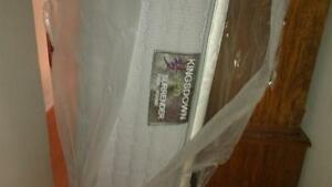 Brand new in package king size mattress