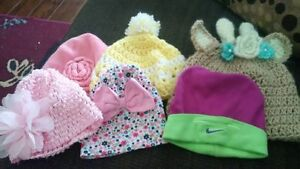Baby hats 0-12months