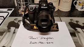 For sale Nikon D2x complete with Nikon 18-70mm afs ed lens