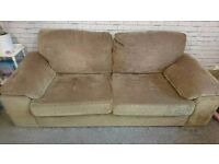 3 SEATER AND TWO SEATER SOFA BED