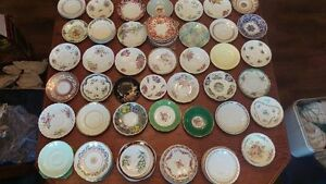 Antique fine porcelain and china Saucer Collection
