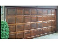 Painting and decorating services garage doors, doors, exterior, gates ,fences, sheds