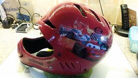 Full faced child's helmet
