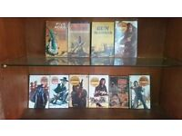 Cowboy and Western Books - set of 10 collectible paperbacks