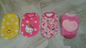 NEW dog clothes size XS