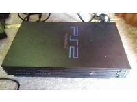 2 x playstation 2 console plus games