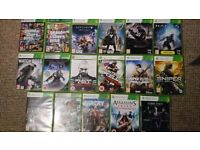 xbox 360 games,very good condition.£2.50 each or 5 for £10.