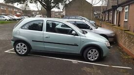Vauxhall Corsa 1.2 Sxi 02 plate, petrol in immaculate condition!!